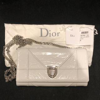 クリスチャンディオール(Christian Dior)のDIORAMA ウォレット オン チェーン(ショルダーバッグ)