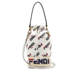 フェンディ(FENDI)の定価26万円以上☆FENDI  マニア ロゴ レザー バケットバッグ(ショルダーバッグ)