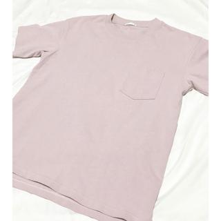 ジーユー(GU)のGU  ヘビーウェイトポケTシャツ(Tシャツ/カットソー(半袖/袖なし))