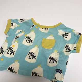 マーキーズ(MARKEY'S)の《MARKEYS》MILK トップス60〜70センチ(Tシャツ)