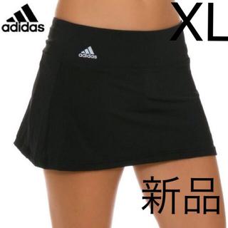 アディダス テニス スコート スカート 練習 試合 スパッツ付 XL