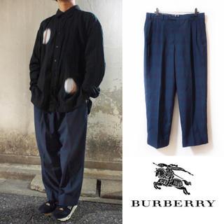バーバリー(BURBERRY)の【Burberry】wide check-slacks(スラックス)