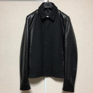 ディオールオム(DIOR HOMME)の新品未使用 Dior Homme  ディオールオム レザージャケット 44(レザージャケット)