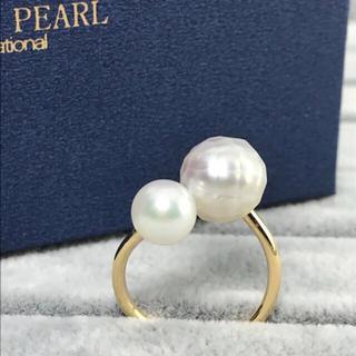 あこや真珠&南洋パールリング(リング(指輪))