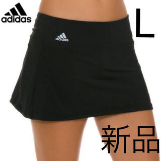 アディダス テニス スコート スカート 練習 試合 インナースパッツ付 L
