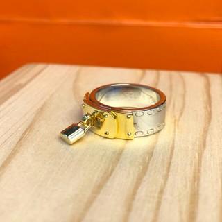 エルメス(Hermes)の正規品☆HERMES  シルバーコンビ ケリーリング(リング(指輪))