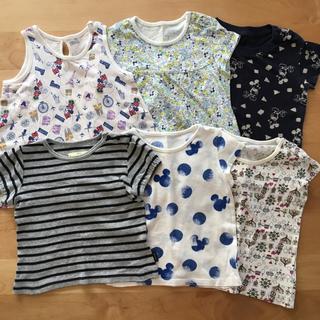 5c92f8b990037 ユニクロ(UNIQLO)の半袖 まとめ売り 80cm(Tシャツ)