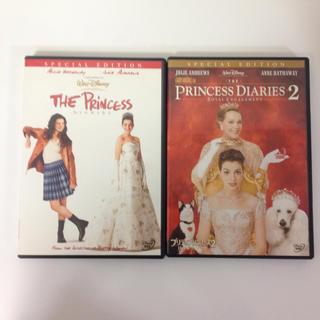 ディズニー(Disney)のプリティプリンセス DVD 2枚セット(外国映画)
