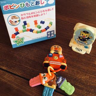 アンパンマン(アンパンマン)の2歳児が遊べるおもちゃ3点セット(知育玩具)