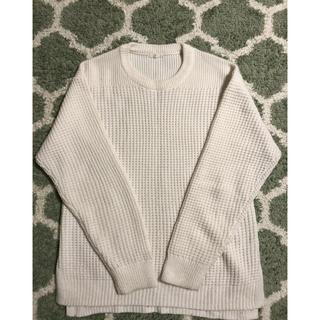 ジーユー(GU)のGU 白セーター Sサイズ(ニット/セーター)