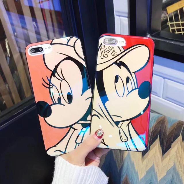 ミッキーマウス - ミッキーマウス iPhoneケース 2点セットの通販 by 購入前にコメント在庫確認|ミッキーマウスならラクマ