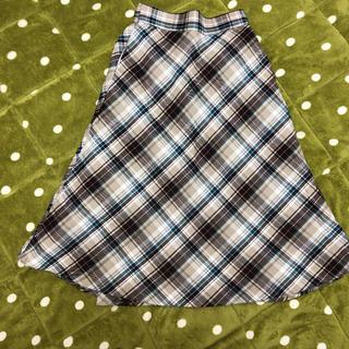 ジーユー(GU)のGU スカート Sサイズ(ひざ丈スカート)