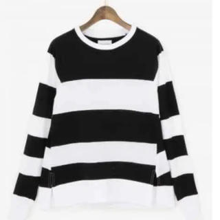 ドゥーズィエムクラス(DEUXIEME CLASSE)のアッパーハイツ ボーダー長袖Tシャツ 定価12960円(Tシャツ(長袖/七分))