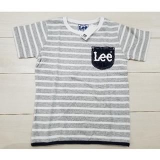 Lee - 新品 140cm Lee×ストンプスタンプ Tシャツ グレー白ボーダー