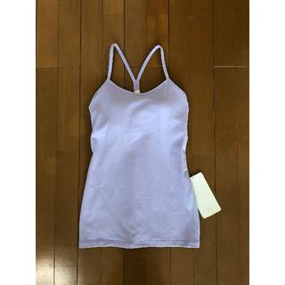 lululemon - lululemon athletics Power Y Tank (ラベンダー)