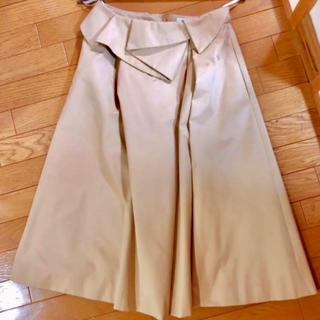 マイストラーダ(Mystrada)のmystrada ペプラム トレンチスカート (ひざ丈スカート)