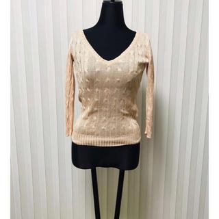ラルフローレン(Ralph Lauren)のラルフローレン ブラックレーベル シルク セーター ニット ピンク ラルフ(ニット/セーター)