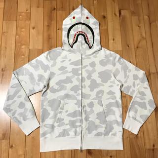 アベイシングエイプ(A BATHING APE)のcity camo シャークパーカー BAPE shark hoodie ベイプ(パーカー)