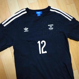 アディダス(adidas)のアディダスオリジナルス Tシャツ 黒 M(Tシャツ/カットソー(半袖/袖なし))