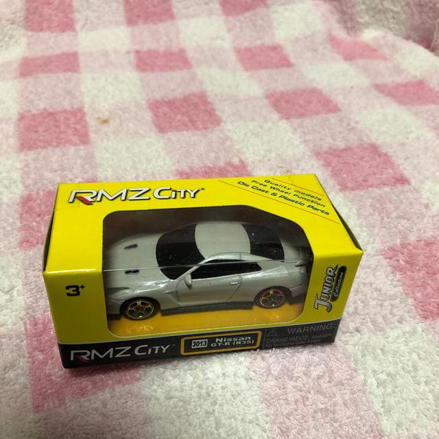日産(ニッサン)のrmz city  日産 スカイライン GTR R35 エンタメ/ホビーのおもちゃ/ぬいぐるみ(ミニカー)の商品写真