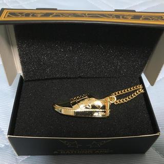 アベイシングエイプ(A BATHING APE)のゴールド会員限定非売品 ベイプスター ゴールド ネックレス  (ネックレス)