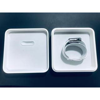 アップル(Apple)の【美品】 Apple Watch Series 2 ステンレス スチール 38m(その他)