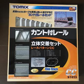 トミー(TOMMY)のtomix nゲージ 91013 カント付レール 立体交差セット(鉄道模型)