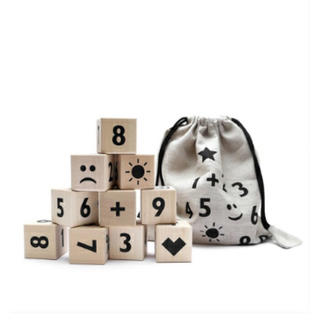 キャラメルベビー&チャイルド(Caramel baby&child )の今週のみ売切ooh noo マスブロック math block(積み木/ブロック)