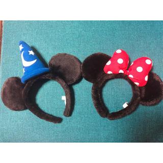 Disney - ミッキー ミニー カチューシャ