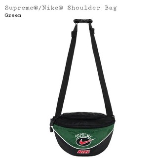 送込! 緑 Supreme Nike ショルダー バッグ Green