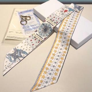 ディオール(Dior)の☆ディオールDior  人気 多機能 正規品 リボン スカーフ(バンダナ/スカーフ)
