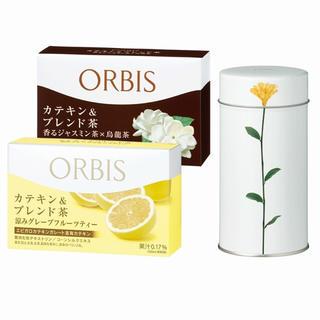オルビス(ORBIS)の【期間限定】カテキン&ブレンド茶 キャニスターセット(茶)