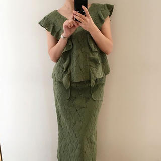 グリード(GREED)のGREED♡ナチュラルレーススカート(ロングスカート)