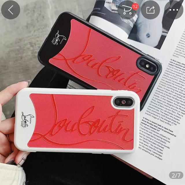 iPhone xsmax ケース♡ ルブタン 風の通販 by 910|ラクマ