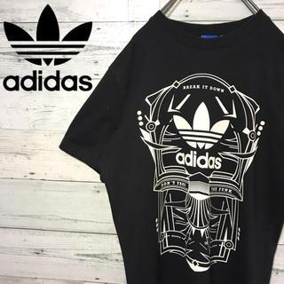 アディダス(adidas)の【レア】アディダスオリジナルス☆プリントビッグロゴ Tシャツ(Tシャツ/カットソー(半袖/袖なし))