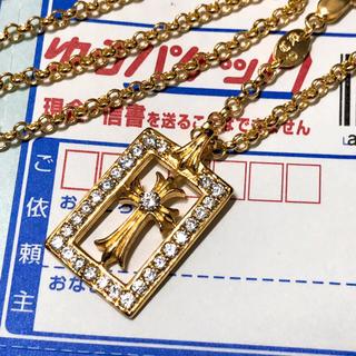 クロムハーツ(Chrome Hearts)のクロムハーツ クロスチャーム&ネックレス(ネックレス)