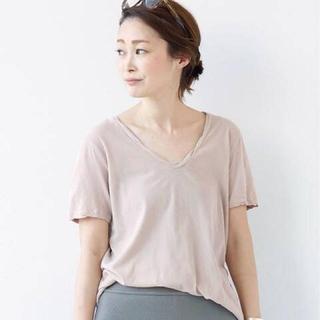 ドゥーズィエムクラス(DEUXIEME CLASSE)のDeuxieme Classe ◇Garment Dye T◆ピンク(Tシャツ(半袖/袖なし))