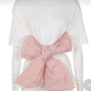ハニーミーハニー(Honey mi Honey)のhoneymi honeyタフタリボンT(Tシャツ(半袖/袖なし))