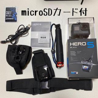 GoPro - 【美品】GoPro hero5 black マウント・SD1式set【送料込】