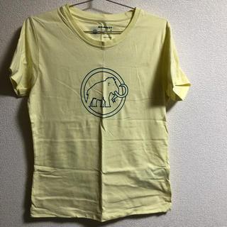 Mammut - マムート Tシャツ 黄色