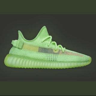 adidas - 25.5cm yeezy boost 350 v2 glow