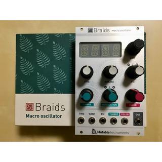Mutable Instruments Braids モジュラーシンセ