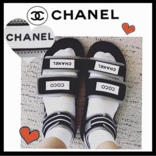 シャネル(CHANEL)の新品19SS ❤️CHANELスポーツサンダル❤️(サンダル)