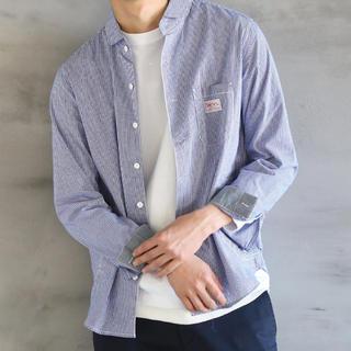 コーエン(coen)のcoen smith別注ショールカラーワークシャツ コーエン(シャツ)