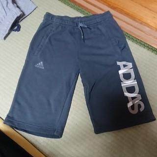 アディダス(adidas)の【美品】アディダス スウェット ハーフパンツ  160㎝(パンツ/スパッツ)