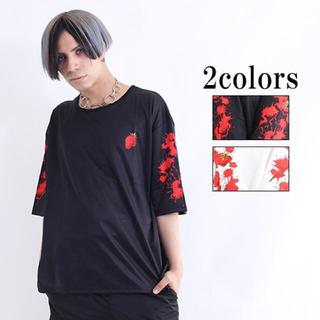 ファンキーフルーツ(FUNKY FRUIT)のストロベリーブラッド  半袖T 黒 drug honey ドラッグハニー(Tシャツ(半袖/袖なし))