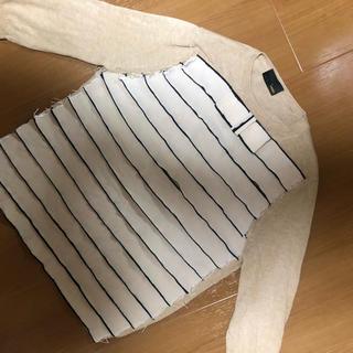 フェンディ(FENDI)のFENDIフェンディ 7部袖コットンニット(ニット/セーター)