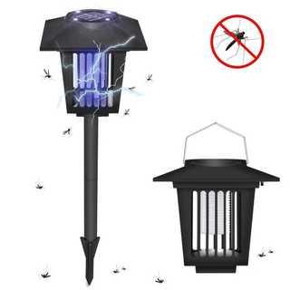 電撃殺虫器 UV光源吸引式殺虫灯 ソーラー充電式蚊取り器