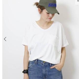 ドゥーズィエムクラス(DEUXIEME CLASSE)の新品 SKARGORN ポケツキワイドTシャツ Deuxieme Classe(Tシャツ(半袖/袖なし))