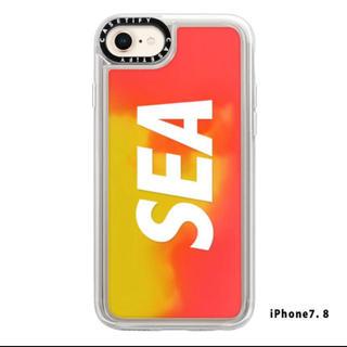 シュプリーム(Supreme)のwind and sea iPhone 7.8 orange(iPhoneケース)